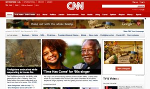 Dylan and Lester Chambers' story on the front page of CNN.com