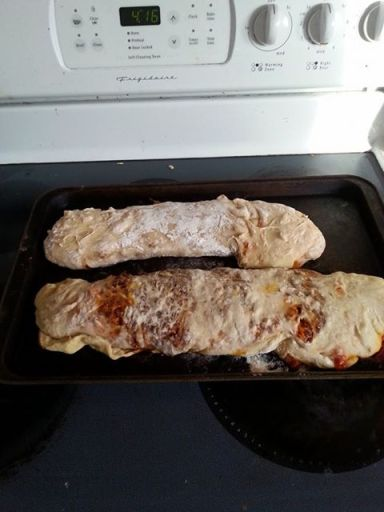 My Italian burritos.