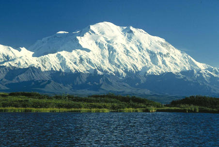 The mountain known as Denali.