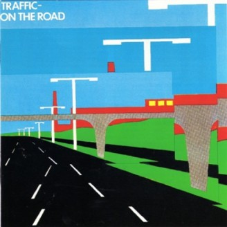 "Cover art to the live Traffic album ""On The Road."""