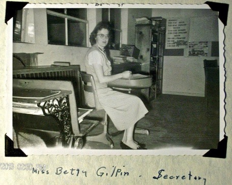 Betty Gilpin in her teaching days at the remote mining town of Cobalt, Idaho.